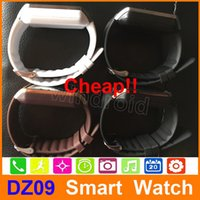 Wholesale sim card watch cell for sale – best Smartwatch Latest DZ09 Bluetooth Smart Watch For Apple Samsung IOS Android Cell phone quot SIM Card build in browser
