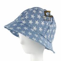 Wholesale Foldable Sunbonnet - Wholesale-Outdoor denim hats Foldable Ladies jean hat Outdoor Camping Mountain climbing Tourism hat sunbonnet