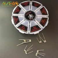 Wholesale demon killer fused clapton wire resale online - Demon Killer Wire In Prebuilt Coil Box Kit Flat twisted Fused clapton Hive premade Alien Mix twisted Tiger Quad for RBA RTA