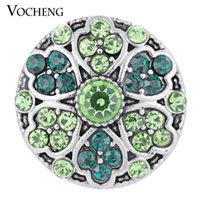 Clasps & Hooks blossom jewelry - VOCHENG NOOSA Snap Jewelry Colors Blossom Lucky Charm Button Vn