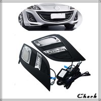 Faro principale Day Light per Mazda 3 2010 2011 2012 2013 LED DRL Daytime Running Light Daylight con segnale di svolta 2pz