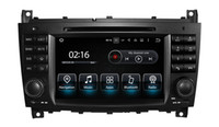 Wholesale X Radio Tuner - Android 7.1 car stereo Car DVD navigation for Benz c w203 bnez clk w209 x A9 3G WIFI car audio gps Reversing Track function