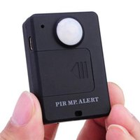 Wholesale Gsm Alert - PIR MP. Alert A9 Wireless Alarm System GSM Personal Auto Tracking Positioning Car Security Alarm Infrared Sensor Alarm Motion Detector