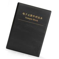 Wholesale Carbon Sample - Wholesale- 0603 SMD Resistor 170 Values 50 pcs kinds 8500pcs 1% Black Sample Book Assortment Kit Resistance Electronic Component