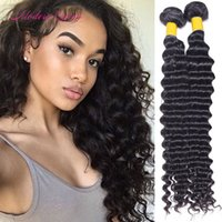 Wholesale Human Hair Price Bulk - Raw Indian Deep Wave Weave Bundles Wholesale Cheap Price 7A Indian Deep Curl Human Hair Extensions Indian Deep Wave Curly Hair Bulk
