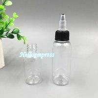 ecig haustier großhandel-Twist Off Caps 30 ml Kunststoff Klare Stiftform 1OZ Pet Schnabel Flaschen Tragbare Verpackung Schnabel Flaschen für Ecig Flüssigkeit Saft