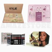 Wholesale Christmas Stocking Boxes - In stock!! New Kylie Vacation Edition Bundle Pink Birthday Collection Christmas Bundle Peacock Set Makeup set the Box by Kylie Jenner