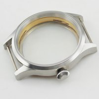 Wholesale Low Price Good Quality Watches - P212 Corgeut Sapphire Glass 43mm Sterile Steel Wristwatch Case Fit for ST36 ETA 6497 6498 Watch Low price and good quality Case