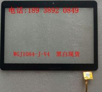 Atacado- WGJ1084-J-V4 Touch screen tablet China-Tablet PC 10,1