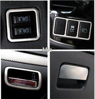Wholesale 7pcs kit Stainless steel interior handle storage box button ring decorative trim cover ring for Mitsubishi Outlander