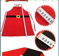 mediendekor großhandel-Weihnachten Küche Medium Schürze Kochschürze Free Size Restaurant Supermacket Weihnachten Uniform Xmas Decor Supplies Werkzeuge