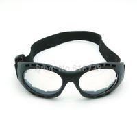 óculos de bicicleta claro venda por atacado-Óculos de proteção para adultos Óculos de motocross Óculos de bicicleta Óculos flexíveis Lente clara para bicicleta óculos de corrida de moto