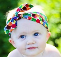 Wholesale Chinese Hair Flowers - Newest Baby Pure Cotton Headbands 15inch Children Floral Hair Accessories Kids Newborn Elastic Headwear with Chinese Rose Flowers KHA172
