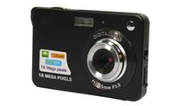 Wholesale Digital Photo Frame Sd - 1pcs Digital camera 2.7 inch TFT LCD 16.0 mega pixels 4X digital zoom Anti-shake Video Camcorder photo camera Free send