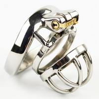 Wholesale Sex Cock Long - Super Small Male Chastity Device Stainless Steel 3.5CM Long Adult Cock Cage Latest Design Bondage Belt Sex Toys