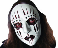 Neue Slipknot Joey Masken Cosplay Scary White Slipknot Maske Erwachsene Fancy Kostüm Party Masquerade Halloween Requisiten Maske
