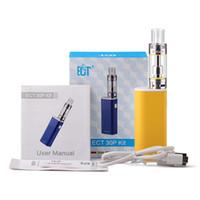 Wholesale E Vapours - ECT 30p kit box mod e cigarette with kenjoy vot mini 2200mah Huge vapour lighter low 0.3ohm mod box electronic cigarettes