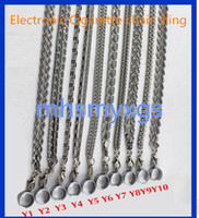 Wholesale Ego Lanyard Stainless Steel - EGO-KWTA Stainless Steel Lanyard Necklace String Neck Chain Sling Clip Ring for ego serie ego-t CE4 CE5 kits Electronic CigaretteMetal acces