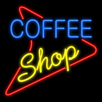 """Wholesale lighted coffee signs - Coffee Shop Handcrafted Neon Sign Real Glass Tuble Light Soft Drink Bar Disco KTV PUB Club Store Advertisement Display Neon Signs 16""""x16"""""""