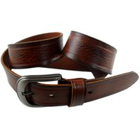 Wholesale Christmas Accesories - Vegetable Tanned Leather Belts Retro Men Waist Straps High End Jeans Straps Fashion Accesories Christmas Gift CH900013