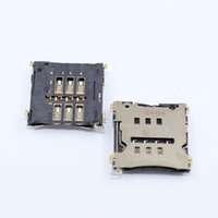 Wholesale flex card resale online - LG Optimus G2 D802 Sim Karte Leser Halter Card Reader Slot Simkarten Flex Cable