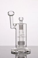 Wholesale One Thick - 2016 new tall Mobius Matrix sidecar glass bong birdcage percolator glass Bongs one perc thick glass water smoking pipes joint size 18.8mm