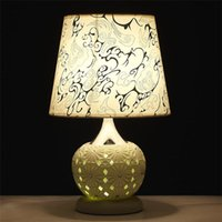 Wholesale Decorating Fabric Table - 2016 Glowing Wedding Table Decorations Contemporary Household Lamps Hollow Out Design LED And Lamp Decorate Desk Lamp Led Headlamp