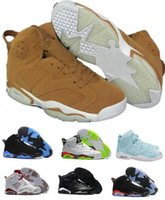 Wholesale J6 Retro - Air Retro 6 VI Basketball Shoes Women Men Retros Shoes Real Replicas Man Retro J6 VI Hombre Basket Sneakers
