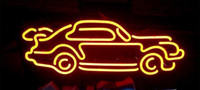Wholesale Car Real Lamp - NEON SIGN For Car Racing Auto Lamp LED Custom Store Display Beer Bar Pub Club Lights Signs Shop Decorate Real Glass Tube Bulbs