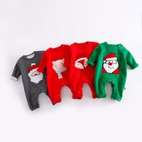 Wholesale Babies Watermelon Costume - Cartoon New Baby Rompers Newborn Baby Boy Clothes Christmas Costumes Boy Girl Clothing Toddler Girls Halloween Clothes 8 Styles A7773