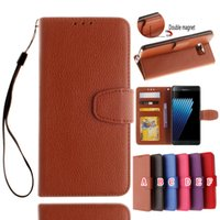 Wholesale Leather Case For Xiaomi Miui - Strap Wallet Leather Pouch Case For Xiaomi 5 MIUI M5 Mi5 Mi 5 TPU Stand ID Card Holder Photo Money Litchi Book Cover Cell phone Luxury 50PCS