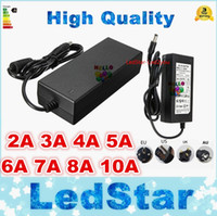 Wholesale switching adapter 12v 2a resale online - LED adapter switching power supply V AC DC V A A A A A A A A A Led Strip light transformer adapter lighting