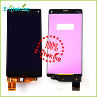 Wholesale lcd sony z3 for sale - Group buy LCD Display touch screen with digitizer Assembly For Sony Z3 Mini Compact D5803 D5833 LCD