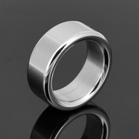 Wholesale Metal Glans Rings - Stainless Steel 304 Cock Ring Metal Cockring for Man Penis glans ring dick ring,Male Chastity Device bdsm sex Toys