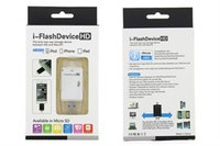 Wholesale Readers High Speed - Free Shipping Wholesale i-Flash Drive TF SD Memory High Speed Card Reader for iPhone7 6S 5s 5c 5