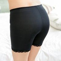 Wholesale Opaque Nylons - Wholesale-new fashion simplicity practicality opaque nylon silk seamless three safety pants lady leggings summer