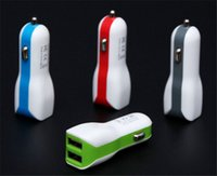 Wholesale Duck S4 - Dual USB Car Charger Adapter Duck mouth Double USB 2-Port 2.1A for Samsung Galaxy S4 S5 Note 2 3 iPhone 5 6