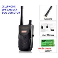 Wholesale Spy Cameras Sound - 20-6000mhz Wireless RF Signal Audio Bug Tap Video Camera Anti-spy Cell Phone Hidden Camera Detector Sound and LED Alarm Bug Detect Detecting