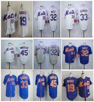 flex base jersey gray 2017 new york mets baseball jersey 33 matt harvey 19 jay bruce 32 steven matz 45