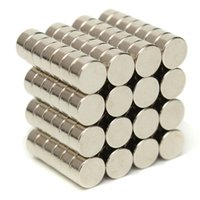 100pcs N50 Super Strong Magnets de disque 6mm x 3mm Rare Earth Neodymium Magnets