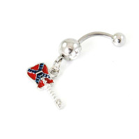 Wholesale musical rings resale online - D0580 color Mix colors styl belly dangle ring nice Musical notation Rings Body Piercing Jewelry Dangle Accessories Fashion Charm