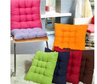 Handmade outdoor cushion dining - TIE ON FASHION CHUNKY SEAT PAD DINING ROOM GARDEN KITCHEN CHAIR CUSHION OUTDOOR