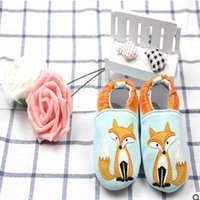 Wholesale Animated Boy - Newborn baby shoes boys girls walkers shoes Kids animated cartoon toddler footwear autumn new baby indoor shoes kids cotton shoe T5024