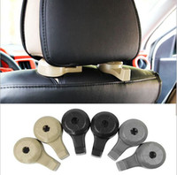 Wholesale Car Grocery Bag Hooks - Up to 8KG Universal Invisable Car Back Seat Hooks for Grocery Shopping Auto Vehicle Car Styling Hanger Car Rack Clip Headrest Hook