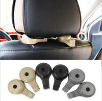 Wholesale back racks resale online - Up to KG Universal Invisable Car Back Seat Hooks for Grocery Shopping Auto Vehicle Car Styling Hanger Car Rack Clip Headrest Hook