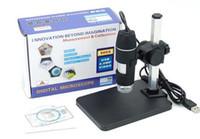 Wholesale Microscope Digital Eyepiece Camera - 800x digital microscope 2MP 8 LED 800 X USB Digital Microscope Endoscope Magnifier Camera