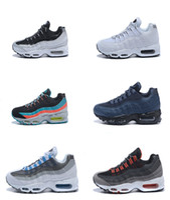 Wholesale Men Fashion Shoes Cheap Prices - Reliable Quality 2017 Fashion Cheap Price Running Shoes Men Women Sizes US 5-12 Jogging Shoes Discount Air 95 Sneaker