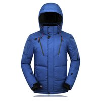 Fall-Men Winter white down Jacket Famous Brand Men vestuário 2016 novo esqui para baixo jaqueta grossa Jacket Outwear Casual Outdoor Coat 265
