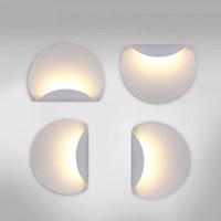 espelhos retrovisores venda por atacado-Porta Novo design 6 W LEVOU Lâmpadas De Alumínio Quarto Luz de parede espelho luz de parede luzes de montagem para sala de estar escadaria banheiro