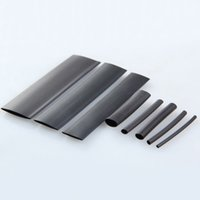 black shrink wrap - New product Black Sizes mm Assortment Heat Shrinkable Tube Shrink Tubing Sleeving Wrap Wire Cable Kit